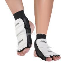 PALIGHT Taekwondofootpad Pair Taekwondo Kaki Protector MMA Karate Kaki Bantalan Perdebatan Gear (Uk