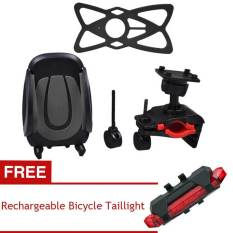 PALIGHT Universal Bicycle Handlebar Phone Holder (Membeli 1 Mendapatkan 1 Gratis)-International