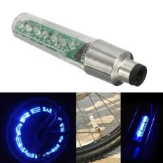 Panda Online Roda Tire Spoke Katup Tutup Neon 7 Lampu LED Lampu Banyak Mode untuk Sepeda Sepeda-Internasional