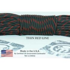 Paracord 550 Thin Red Line - 7C5536