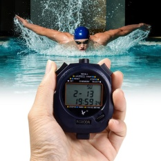 Jual Pc3830A Handheld Electronic Stop Watch Digital Timer Sports Counter Stopwatch With Alarm Calendar Functions Intl Not Specified Grosir