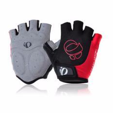 Promo Pearl Izumi Half Finger Gel Sport Gloves Merah Di Banten