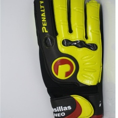 Penalty Casillas Neo Goalkeeper Gloves FS Yellow Black  Sarung Tangan Kiper