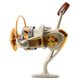 Ulasan Mengenai Penangkapan Ikan Yang Berputar Putar 10 Bantalan Bola 5 5 7000 Champagne