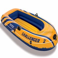 Beli Perahu Karet Intex Challenger 2 Boat Set 68367 Cicilan