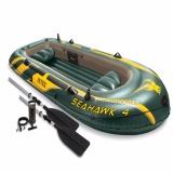 Harga Perahu Karet Intex Seahawk 4 Boat Set 68351 Fullset Murah