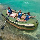Harga Perahu Karet Muat 4 5 Orang Panjang 360Cm Sudah Dapat Dayung Stainles Voyager