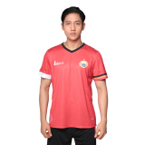 Beli Persija Home Authentic S S Jersey 2017 Jersey Sepak Bola Pria Fiery Red White Baru