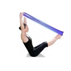 Spesifikasi Pilates Yoga Latihan Aerobik Peregangan Band Tensile Band Elastis Band Pp Intl Yg Baik