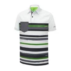 PIN HIGH Baju Golf Larry White GreenGrass DarkSlate