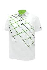 PIN HIGH Baju Golf Patrick – White GreenGrass