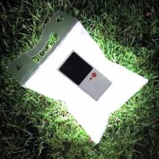Pitaldo Lampu LED Solar Cell Rechargeable Lentera Inflatable Kedap Air bisa Dilipat Cas Tenaga Surya Lampu Pancing