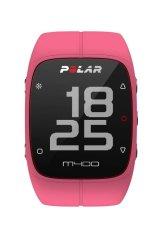 Polar Multi Sport M400 GPS dengan Heart Rate - Jam Tangan Pria - Pink - Rubber