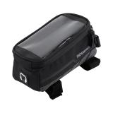 Promo Toko Polyester Bike Frame Phone Bag Rilis Cepat Penyimpanan Tas Tas Sepeda Mtb L Intl