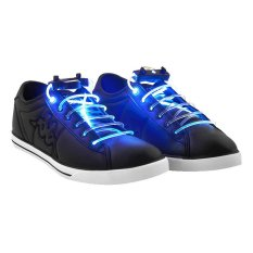 Toko Popochos Flashing Shoes Lace Biru Terlengkap