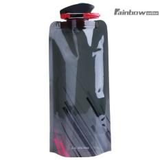 Portabel Lipat Ketel Bepergian Olahraga Berkemah Luar Ruangan Botol Air Mendaki-Internasional By Rainbowonline.