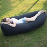 Portable Inflatable Air Bed Sofa Outdoor Beach Camp Sleep Lazy Sofa Bag Blac Dki Jakarta