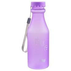 Portable Air Plastik Yang Tak Tergoyahkan Soda Botol Sealed Cup Olahraga Outdoor-Intl