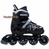 Review Power King Sepatu Roda Inline Skate Hitam Sepaturoda Inlineskate Roda Full Karet Black Power Di Indonesia