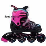 Diskon Power King Sepatu Roda Inline Skate Pink Sepaturoda Inlineskate Roda Full Karet Pink Indonesia