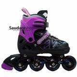 Power King Sepatu Roda Inline Skate Unggu Sepaturoda Inlineskate Roda Full Karet Purple Power Diskon 50