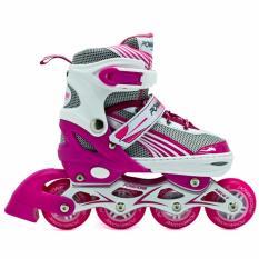 Power One Sepatu Roda Inline Skate [uk: L] / Sepaturoda Inlineskate Roda Full Karet -L