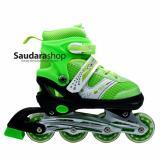 Harga Power Sepatu Roda Inline Anak Hijau Sepaturoda Inline Skate Anak Hijau Terbaru