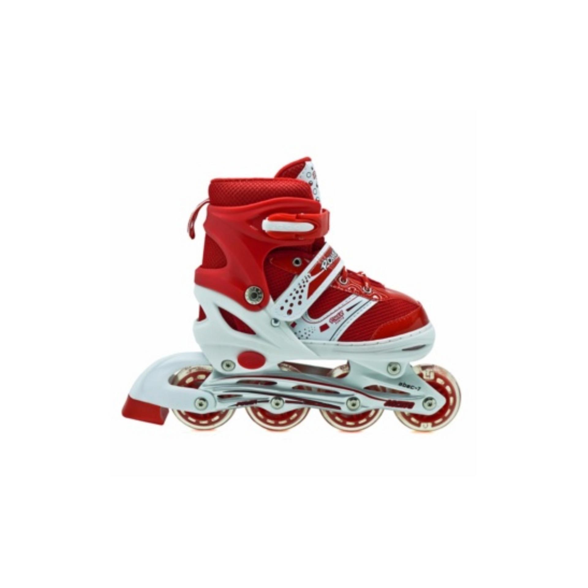 Harga Penawaran Power Sepatu Roda Inline Anak - Merah   Sepaturoda Inline  Skate Anak - Merah 31b0d23fea