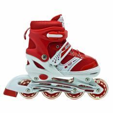 Spesifikasi Power Sepatu Roda Inline Anak Merah Sepaturoda Inline Skate Anak Merah Baru