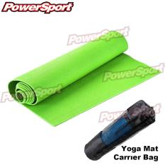 Jual Power Sport Anti Slip Tech 6 1 Mm Yoga Mat Extra Carrying Bag Hijau Neon Online Di Indonesia