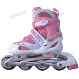 Jual Power Sport In Line Skate Sepatu Roda Pink Branded Original