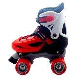 Jual Power Sport Roller Skate Sepatu Roda 4 Merah Branded Original