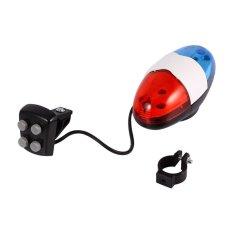 Praktis Keselamatan 6 Led Lampu Depan Sepeda 4 Tombol Peringatan Bel Elektrik Aksesori Untuk Sepeda-Internasional By 1buycart.