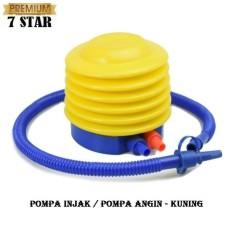 Pompa Injak Mini 7STAR - Pompa Angin Bestway Air Pump Pompa Kaki untuk Balon Pelampung Ban Renang Kasur Angin - Kuning 1Pcs