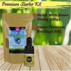 Toko Premium Paket Hemat Umpan Mancing Ikan Patin Pellet With Esen Fruity 250 Gr Essen Premium Katilayu 5 Ml Murah Jawa Barat