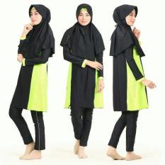 Premium Xxl Besar Baju Renang Muslimah Dewasa Remaja Syari Lycra - 5Dc7e5