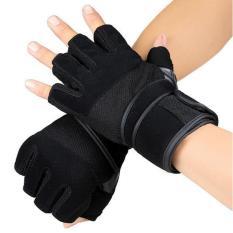 Pro Fitness Gloves / Weight Lifting Sarung Tangan Fitnes Angkat Besi