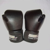 Jual Pro Heavy Bag Boxing Gloves Training Sandbag Leather Punching Punch Bag Sparring Intl