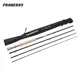 Jual Proberos 2 7 M 4 Bagian Karbon Fly Fishing Rod 7 8 Kuning Dan Hitam Intl Termurah