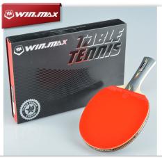 Beli Profesional 4 Bintang Raket Tenis Pena Memegang Raket Tenis Meja Merah Karet Tenis Meja Jerawat Di Pegangan Pendek Latihan Olahraga Baseball