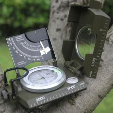 Kompas Geologi Kompas Tentara Militer Profesional Terlihat Bercahaya Kompas untuk Kolam Memancing Berkemah