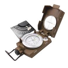 Profesional Military Army Metal Sighting Compass W/Inclinometer Warna Hijau-Intl