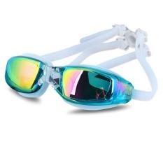 Spesifikasi Professional Swimming Goggles Swim Goggles Water Fog Big Box Lake Blue Yang Bagus Dan Murah