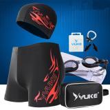 Spesifikasi Profesional Swimwear Swimsuit Goggles Set Intl Yang Bagus Dan Murah