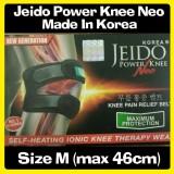 Jual Promo Jeido Power Knee Neo Terapi Lutut Bonus 2 Gelang Size M Termurah