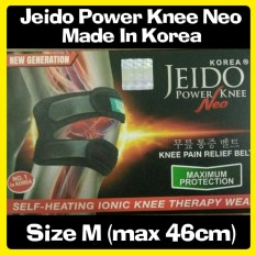 Toko Promo Jeido Power Knee Neo Terapi Lutut Bonus 2 Gelang Size M Jeido Di Indonesia