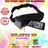 Harga Waterproof Sport Belt Running Bersepeda Joging Jalan Santai Hitam Gratis Usb Otg Mini Reader Let S Slim Iring Stand Hp Branded