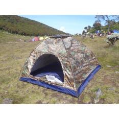 Spesifikasi Promosi Vntg Tenda Dome Kap 4 5P Loreng Daun Oak Alas Terpal Plastik Pe Murah