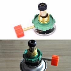 Propane Refill Adapter Tabung Gas Tank Coupler Heater untuk Camping Hunting-Intl