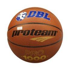 Spesifikasi Proteam Bola Basket Pro1000 Dbl Size 6 Cokelat Proteam Terbaru